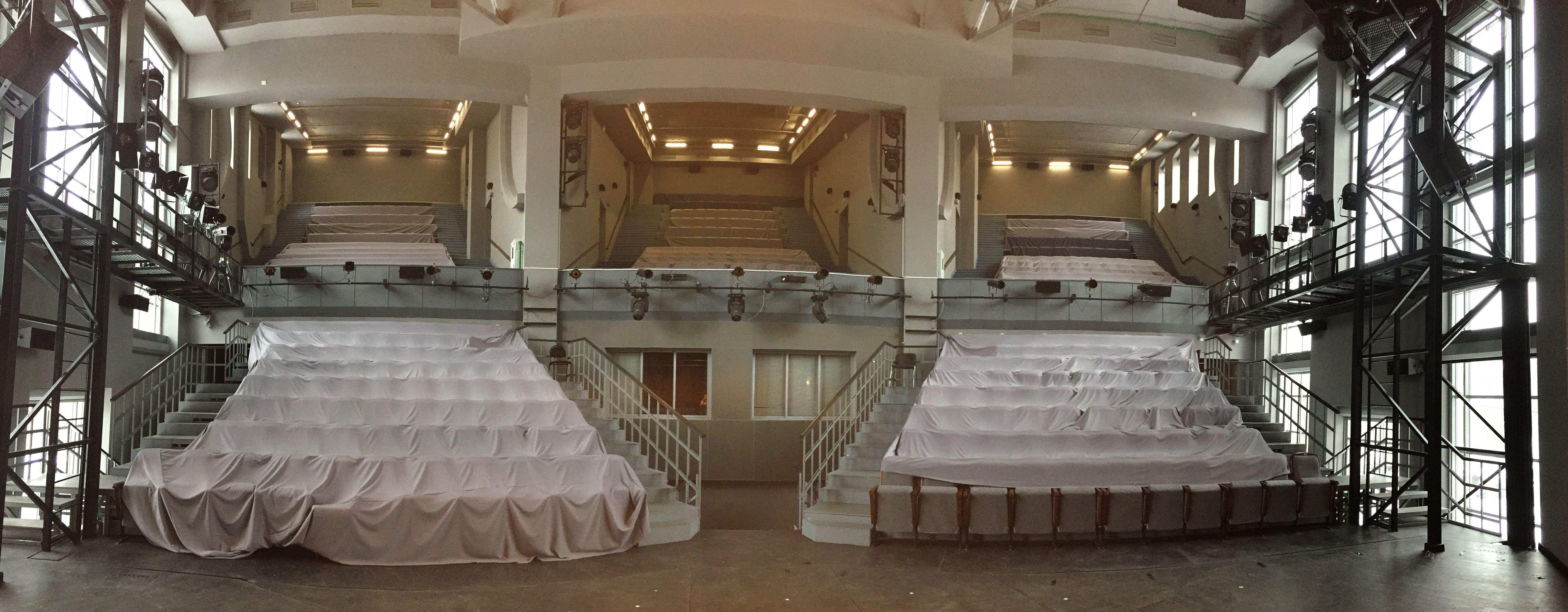 Схема зала театра романа виктюка